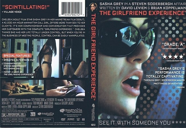 dvd cover The Girlfriend Experience (2009) R1