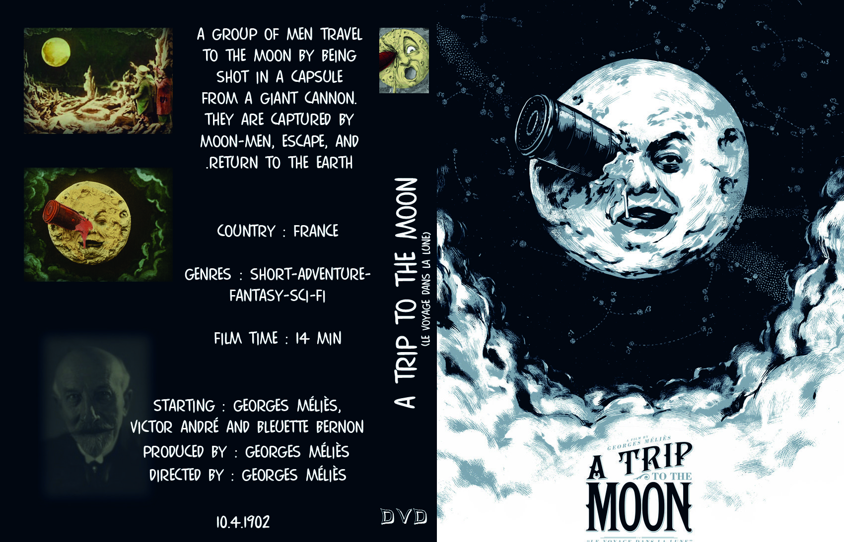 review of a trip to the moon film studies essay Film studies video the class will view some landmark short films such as a trip to the moon, the great train robbery, etc essay on a film noir chosen.