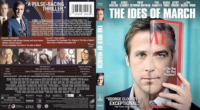 dvd cover The Ides Of March