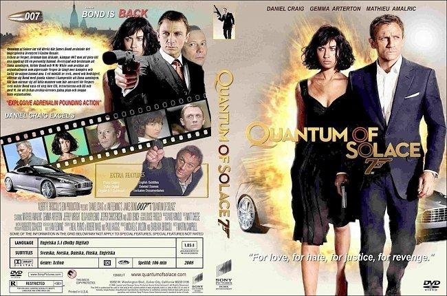Quantum of Solace (2008) - Movie - Moviefone