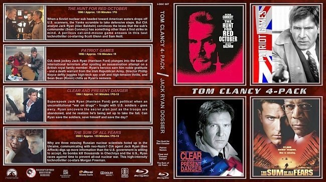 dvd cover Tom Clancy Quad st