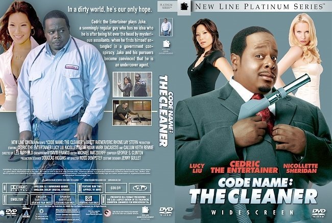 dvd cover Code Name: The Cleaner (2007) WS R1