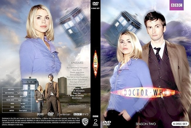 dvd cover Doctor Who Season Two