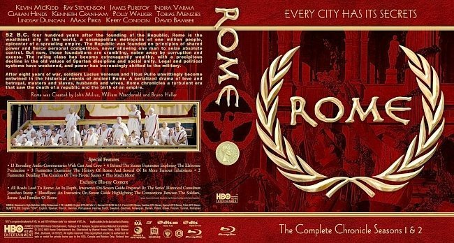 dvd cover Rome