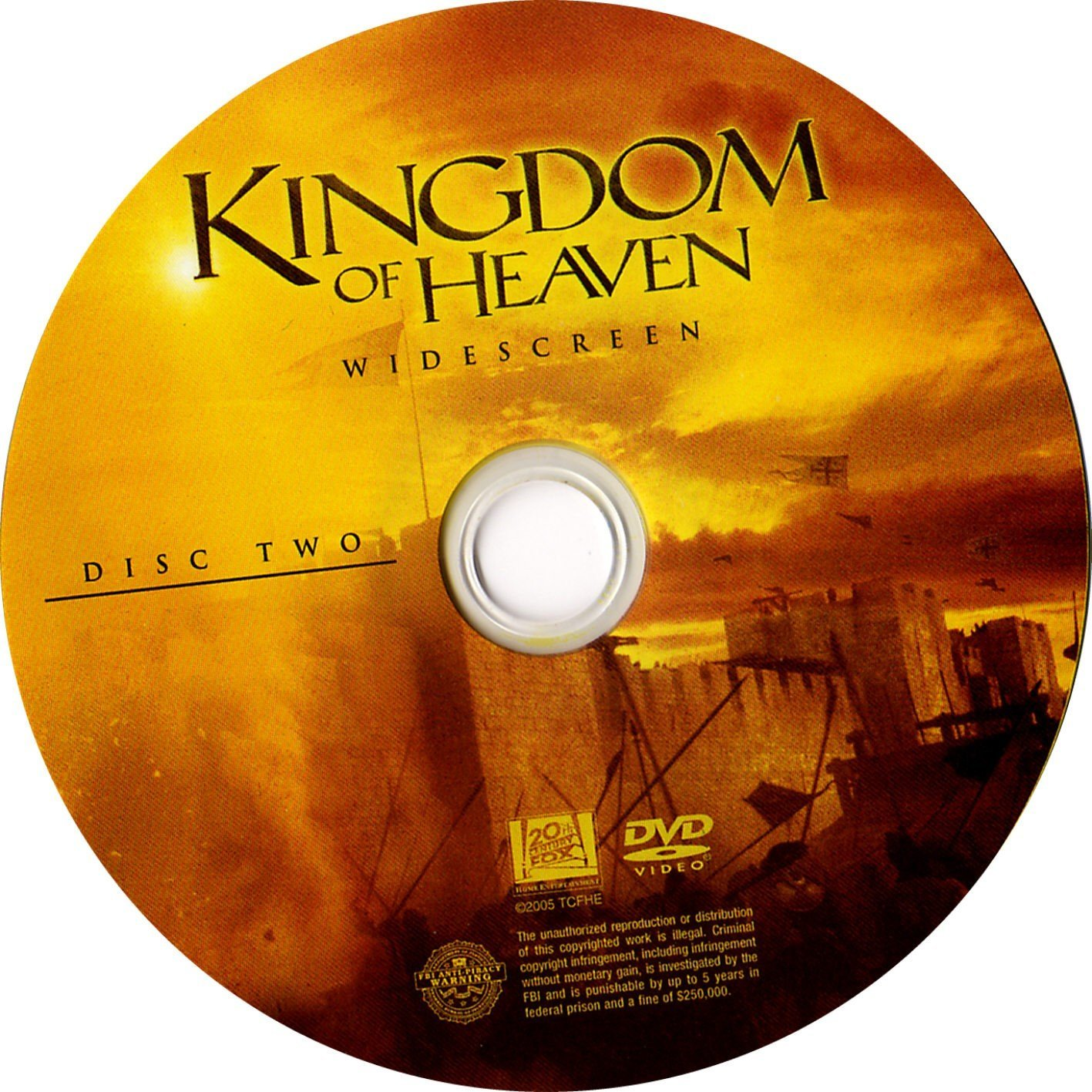 Kingdom Of Heaven 2005 Ws R1 Dvd Covers And Labels