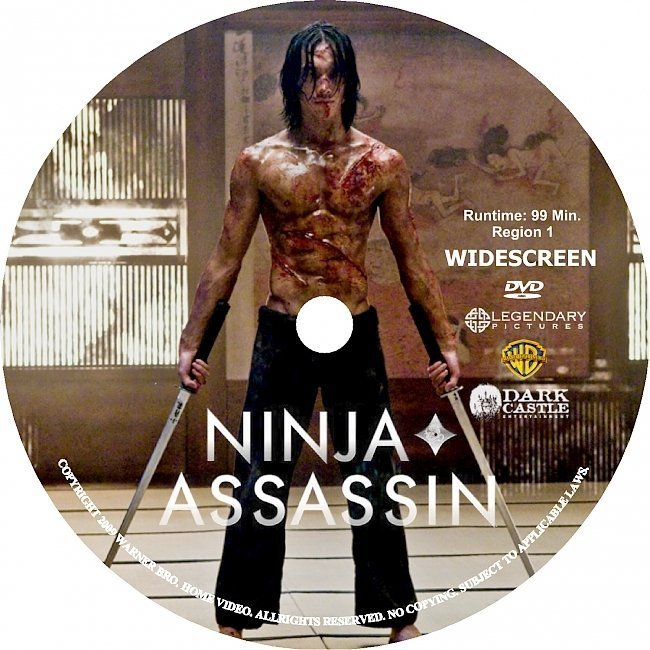 dvd cover Ninja Assassin (2009) R2