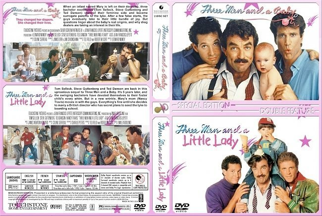 dvd cover Three Men Double