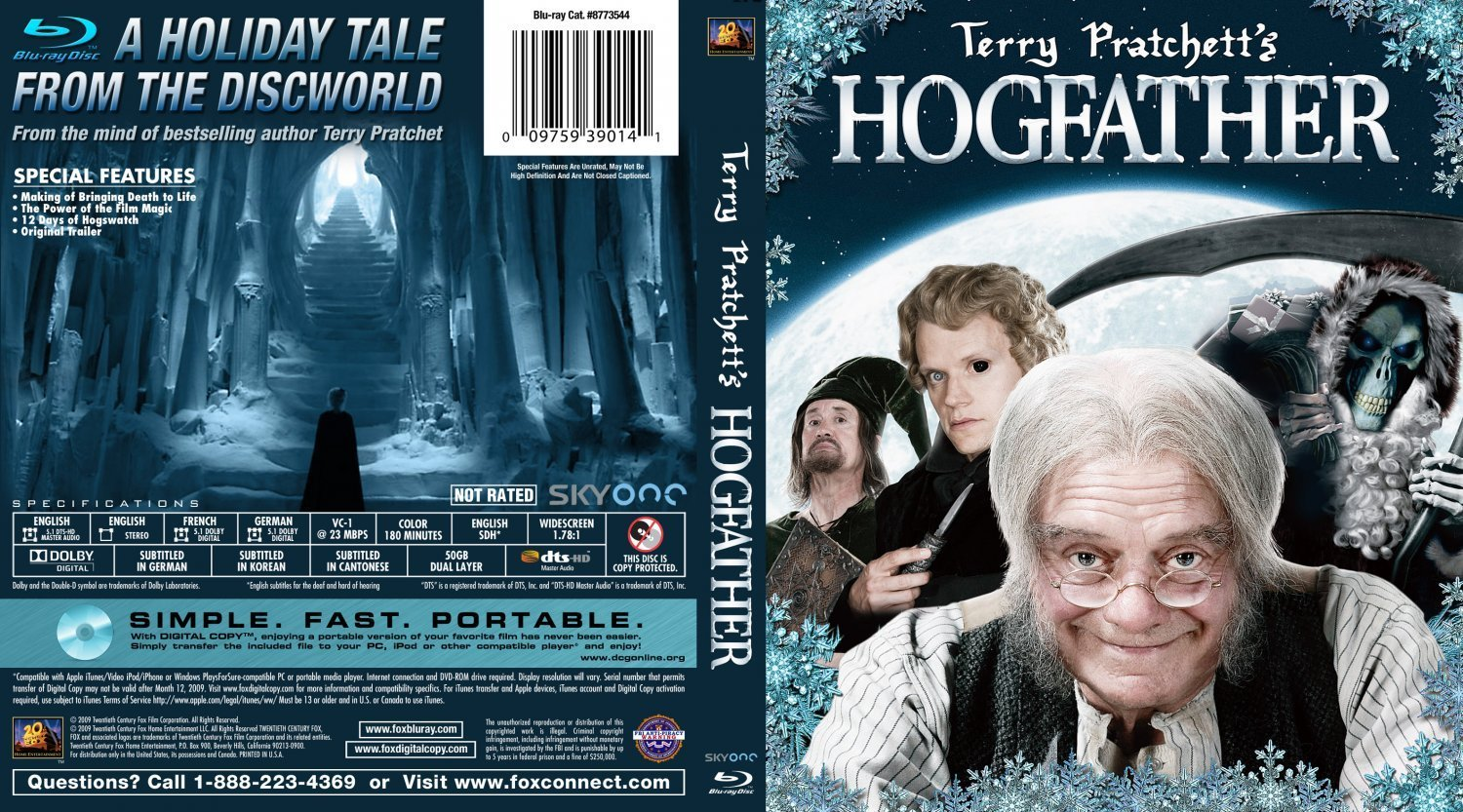 The Hogfather Dvd Covers And Labels