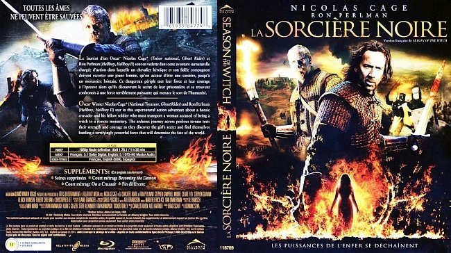 dvd cover La Sorciere Noire Season Of The Witch Bluray