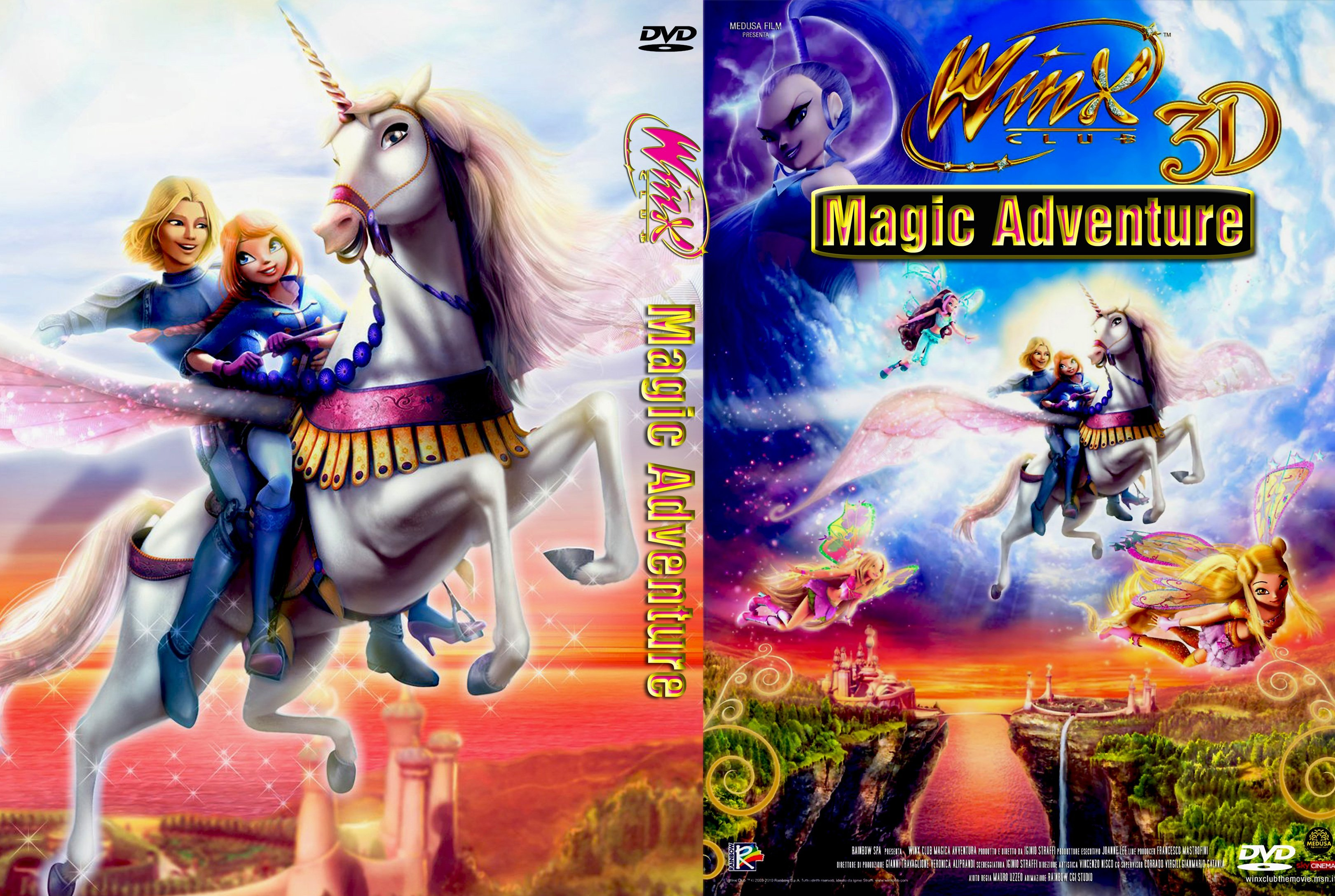 Winx Club: Magic Adventure (2010) | Dvd Covers and Labels