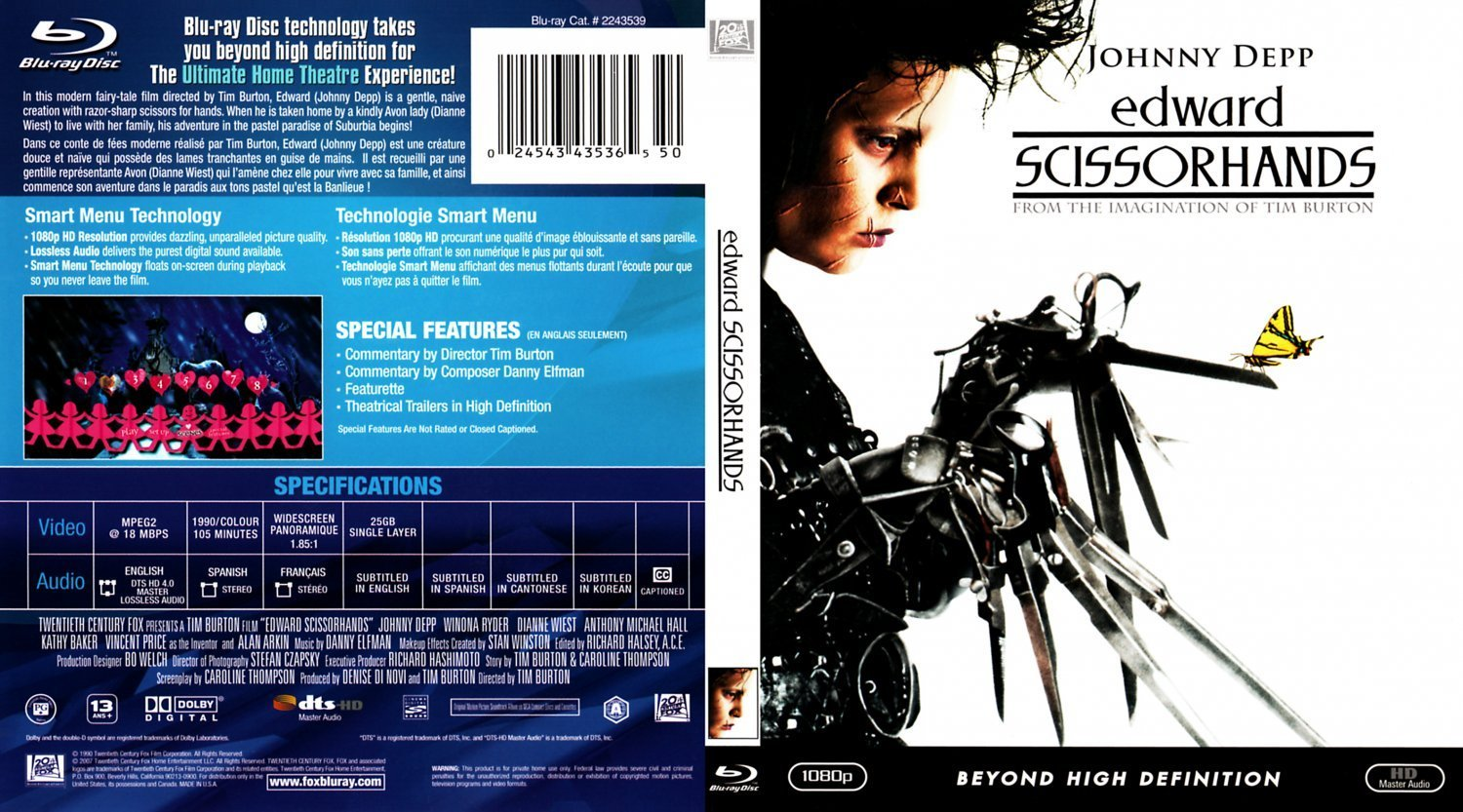 edward scissorhands movie review essay The movie edward scissorhands, emphasizes how hard it is for a person out of the norm to actually be accepted in society people judge others by their appearance before getting to know a person.