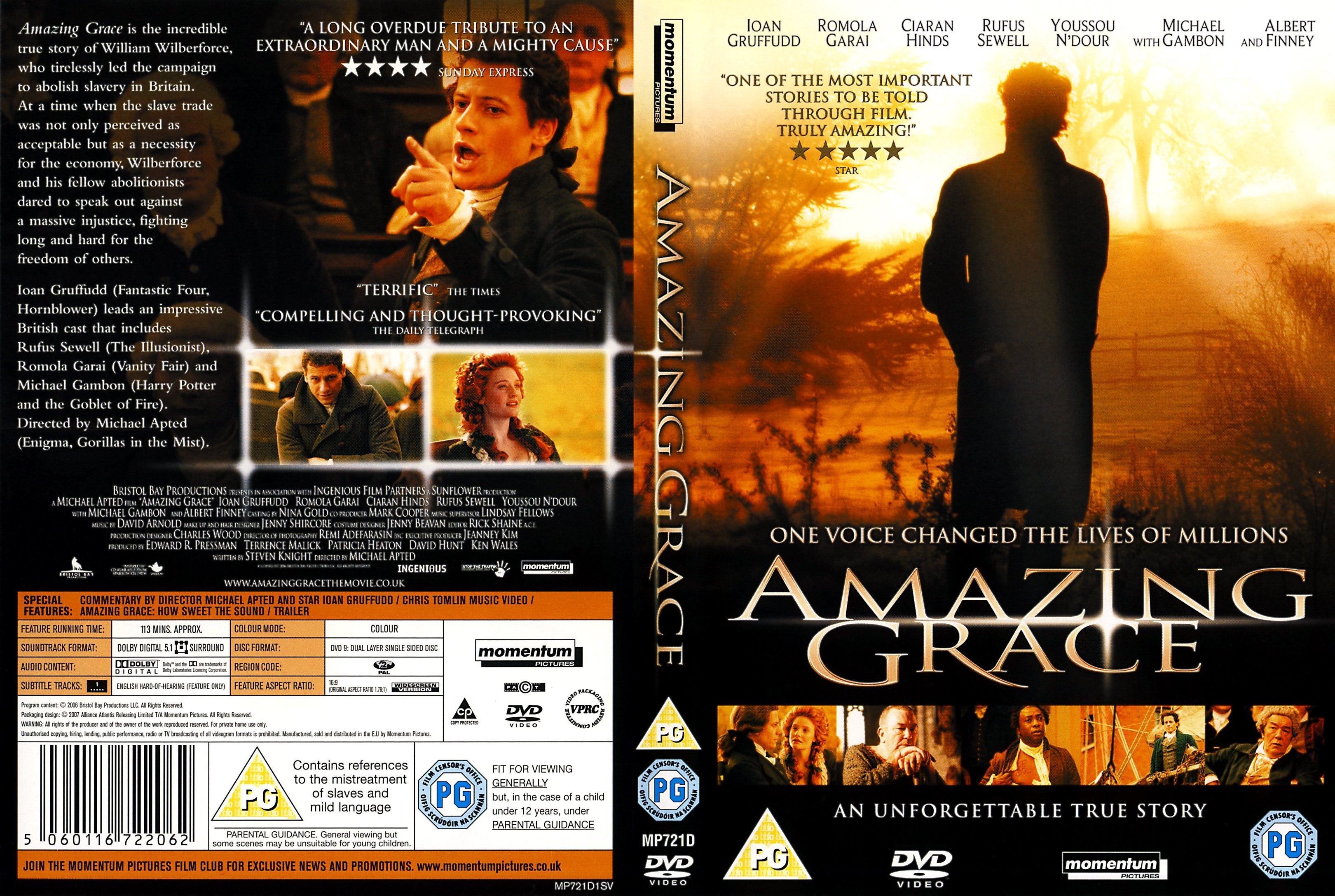 amazing grace film essay Amazing grace, the film: wilberforce vslavery by lita cosner samuel goldwyn films click image for larger view it is the end of the 18 th century, and william wilberforce (ioan grufudd), demoralized and ill from an 8-year-long battle in parliament to ban the slave trade, retreats to the home of his cousins to recuperate.
