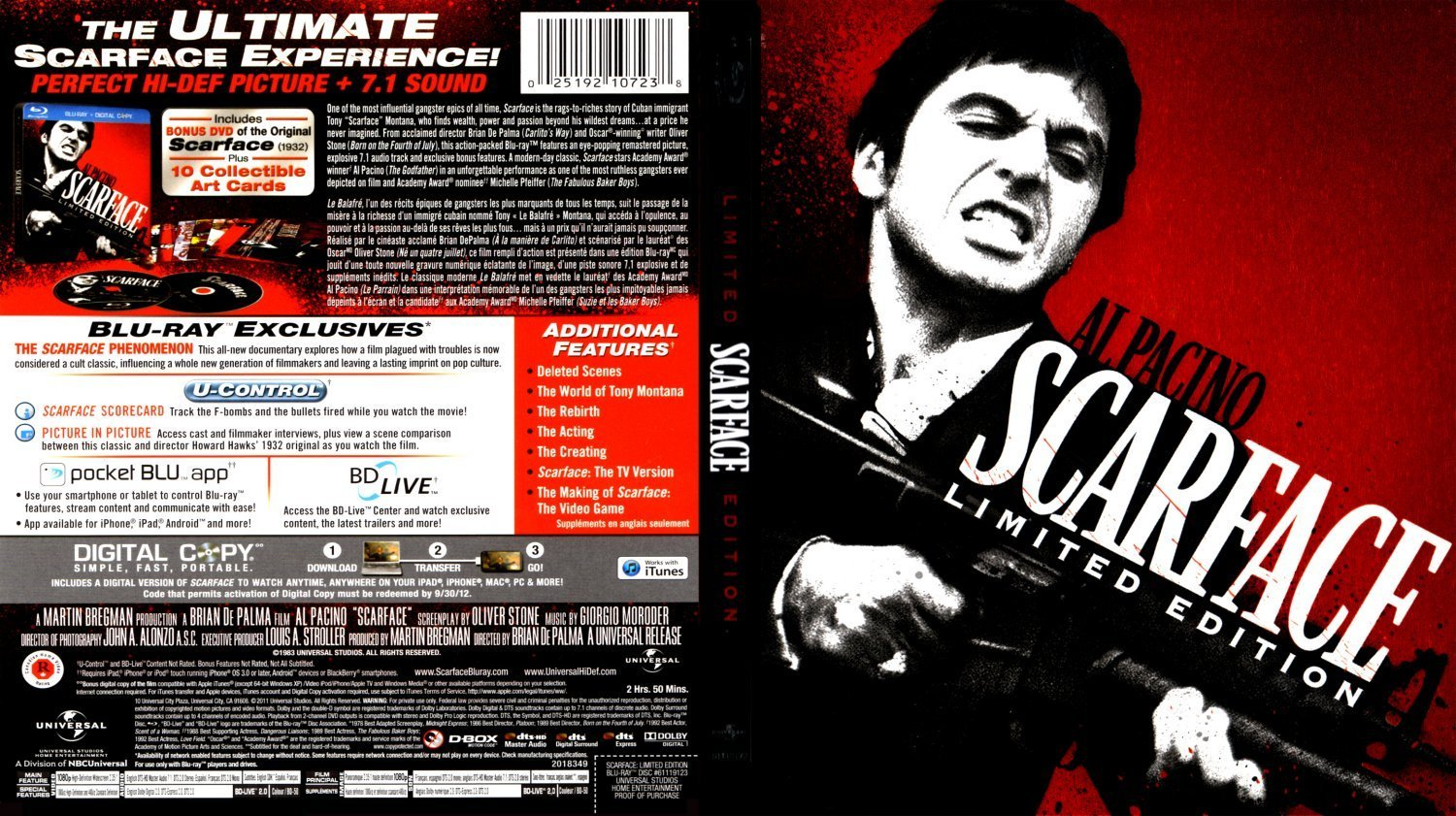 Scarface is Returning to Theaters for Its 35th Anniversary