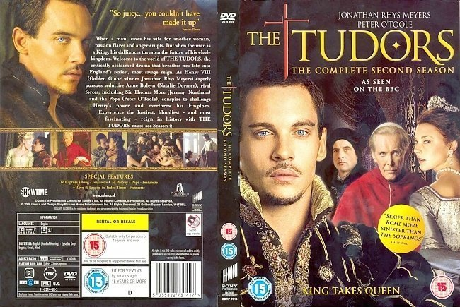 dvd cover The Tudors: All Seasons - Front s