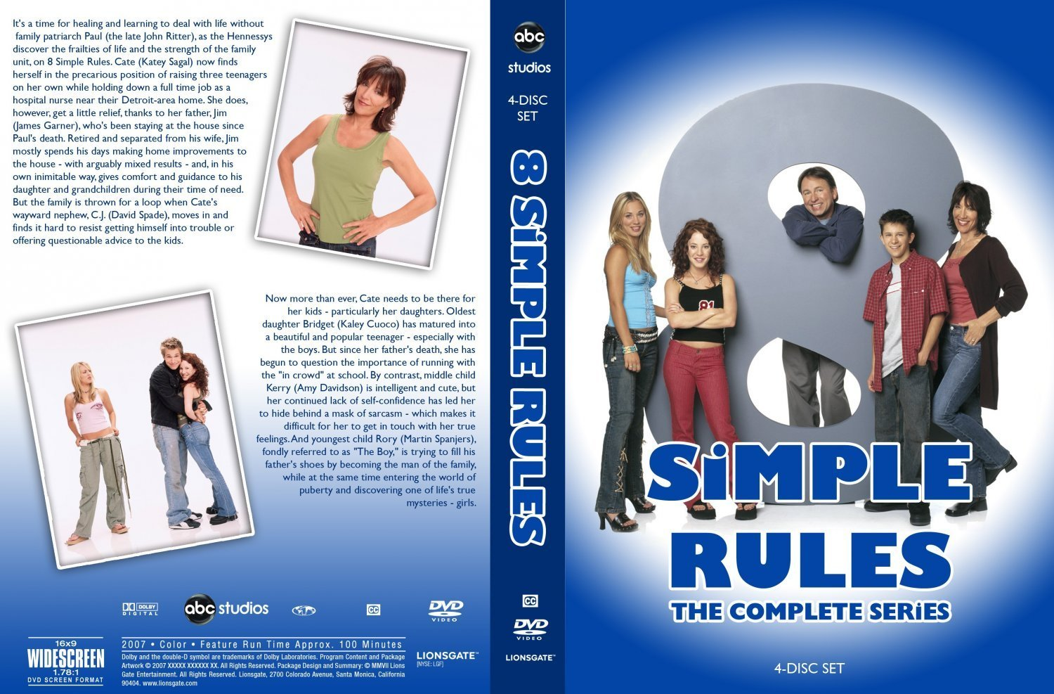 8 simple rules for dating my teenage daughter on dvd