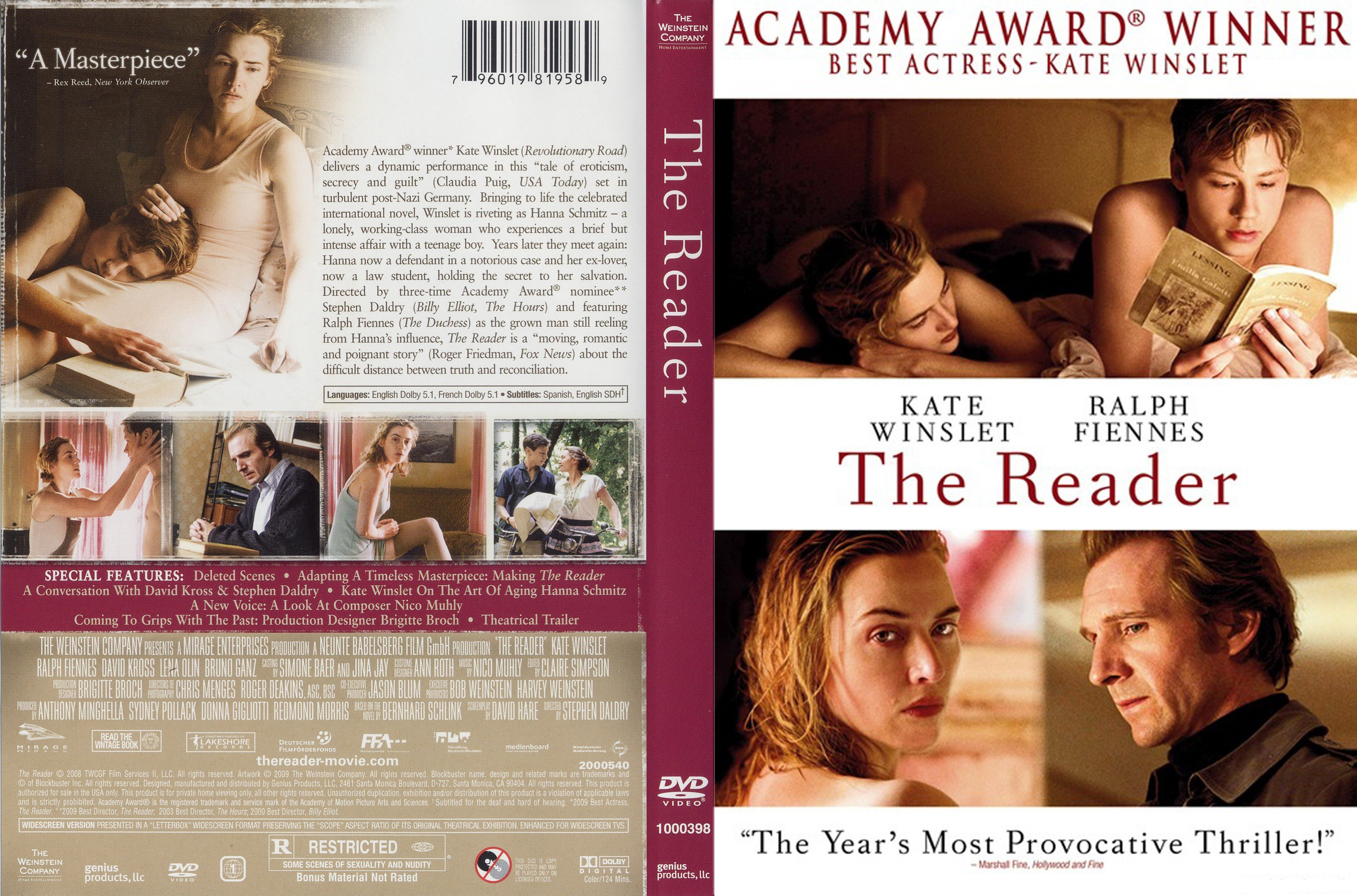 Reader movie 2008
