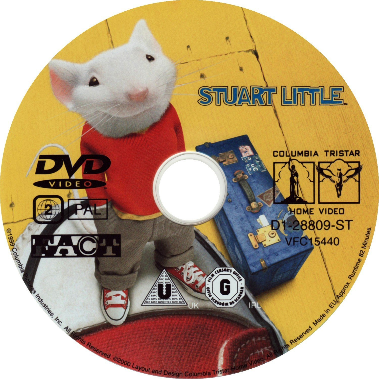 Stuart Little 1999 Ws R2 Dvd Covers And Labels