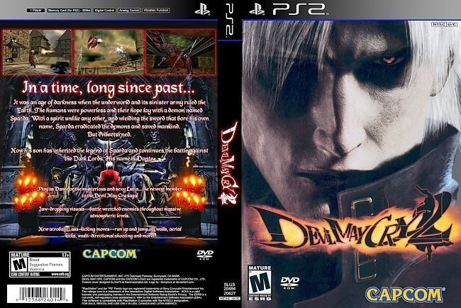 dvd cover Devil May Cry 2