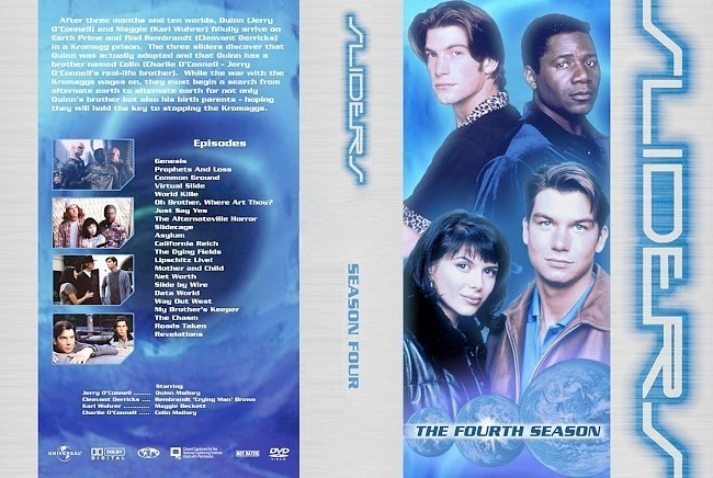 dvd cover SLIDERS 4 cover a