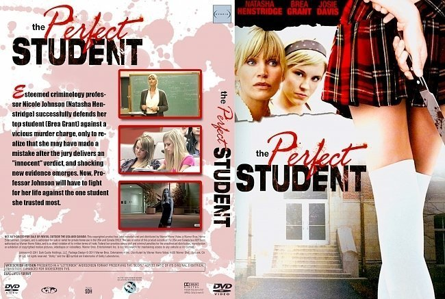 dvd cover The Perfect Student (2011) R2