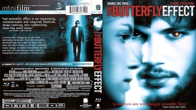 dvd cover the butterfly effect br