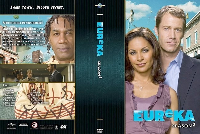 dvd cover Eureka Season 2