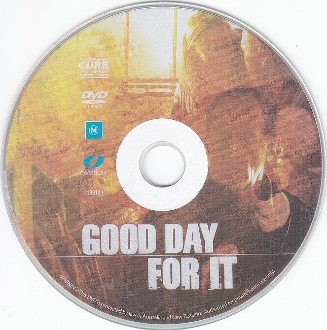 dvd cover Good Day For It (2011) R4