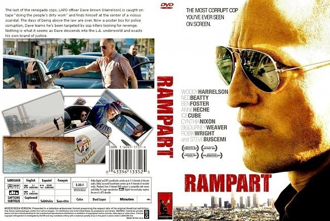 dvd cover Rampart