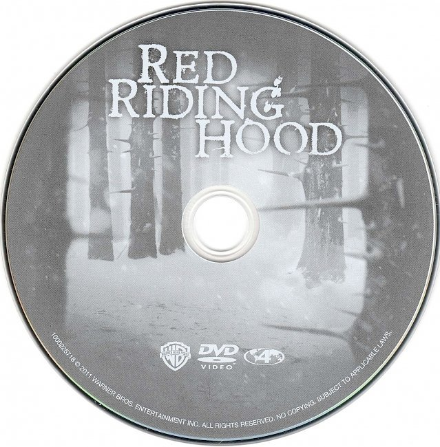 dvd cover Red Riding Hood (2011) WS R4