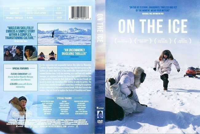 dvd cover On The Ice
