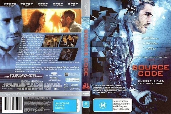 dvd cover Source Code (2011) WS R4