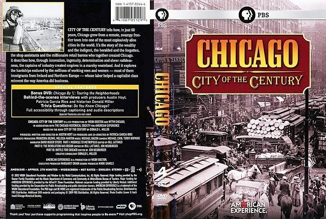dvd cover Chicago City Of The Century
