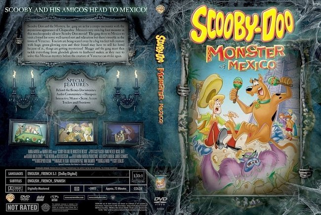 dvd cover Scooby Doo Monster Of Mexico