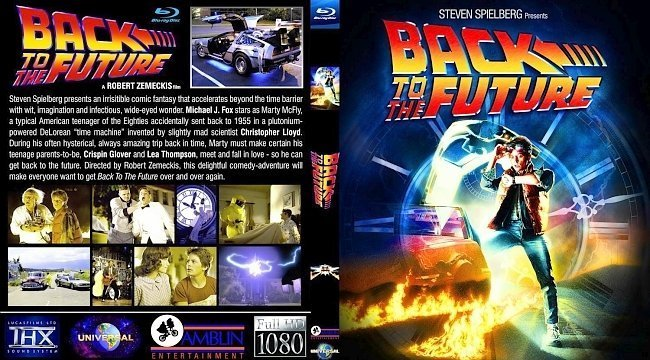 dvd cover BACK to the FUTURE2