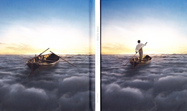 dvd cover Pink Floyd - The Endless River