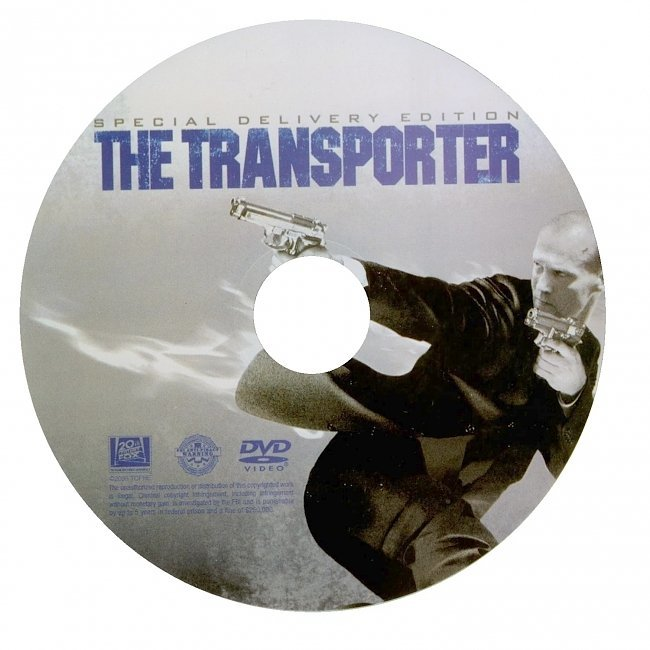 dvd cover Transporter: Special Delivery Edition (2002) R1