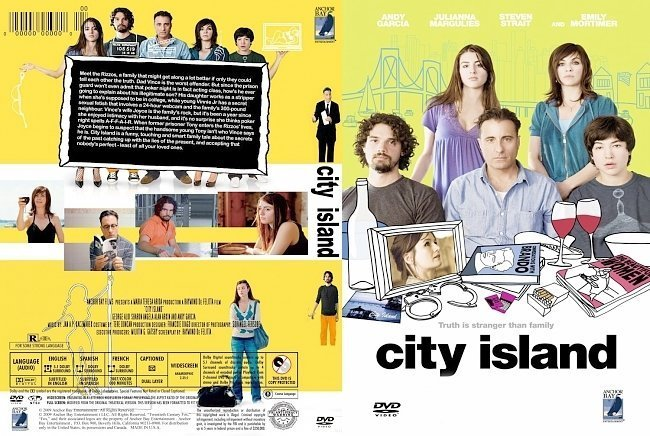 dvd cover City island