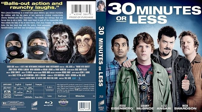 dvd cover 30 Minutes Or Less