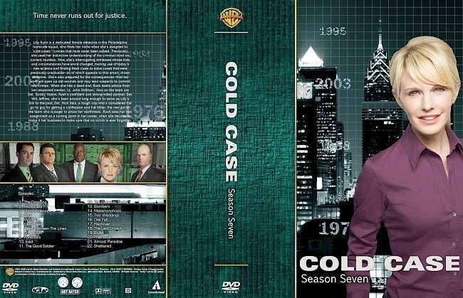 dvd cover Cold Season 7 Large