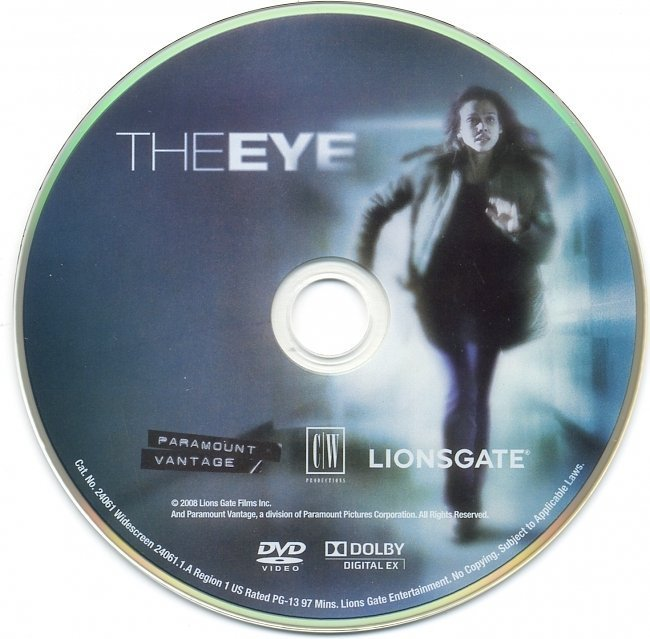 dvd cover The Eye (2008) WS R1
