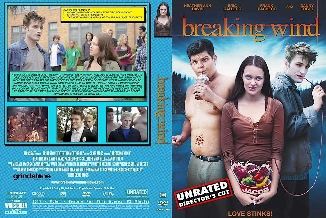 dvd cover Breaking Wind (2011) | Movie Dvd