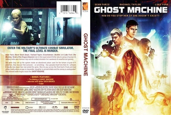 dvd cover Ghost From the Machine