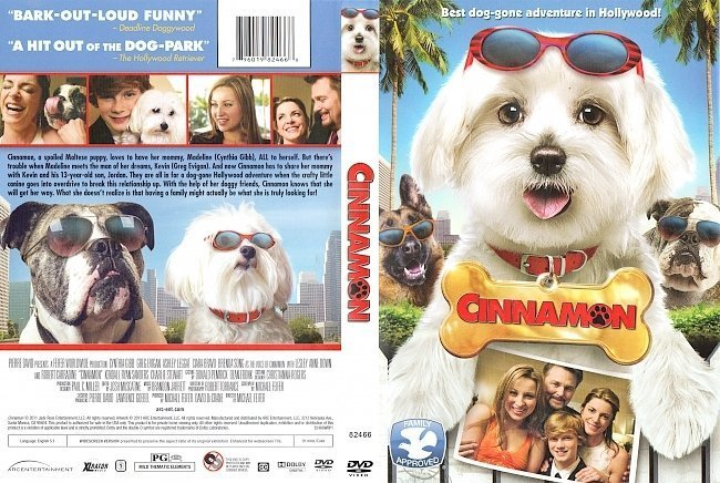 dvd cover Cinnamon R1