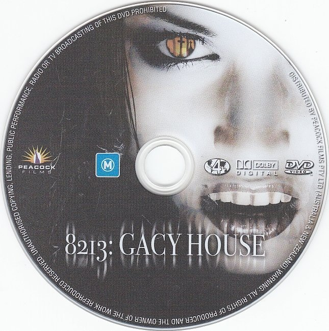 dvd cover 8213: Gacy House (2010) R4
