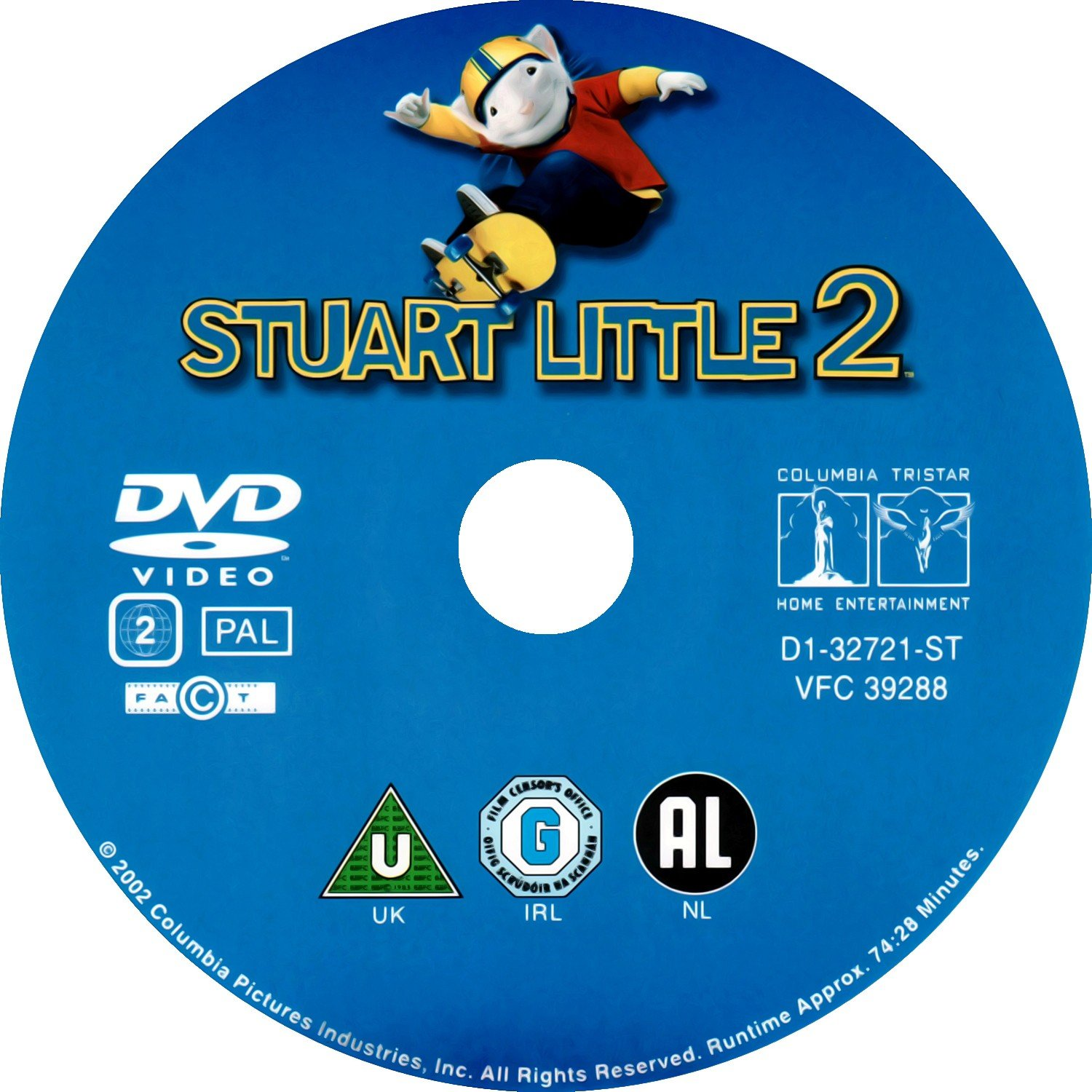 Stuart Little 2 2002 Ws R2 Dvd Covers And Labels