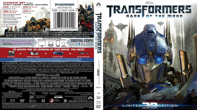 Transformers Revenge Of The Fallen Dvd Cover