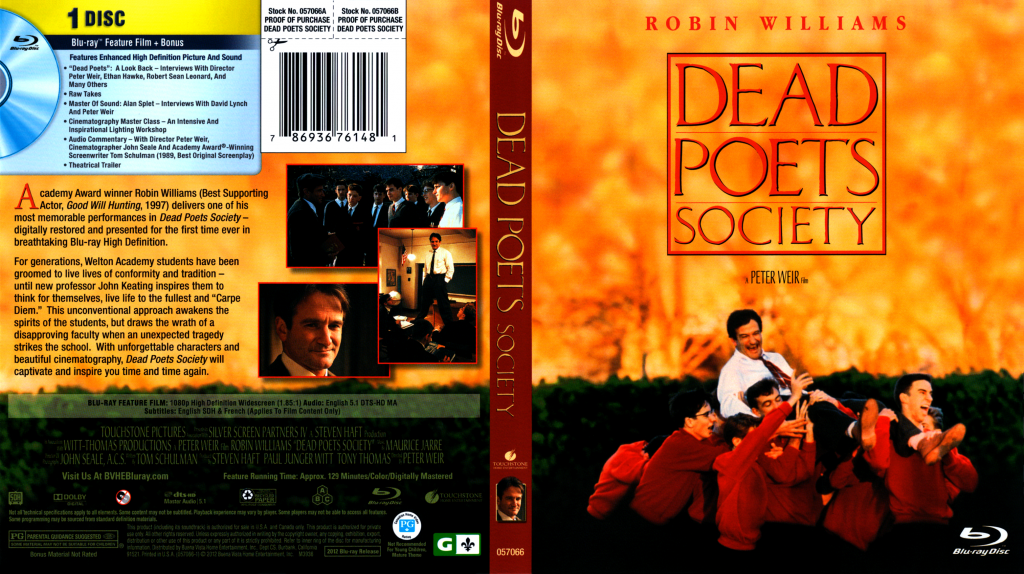 peter weirs film dead poets society essay