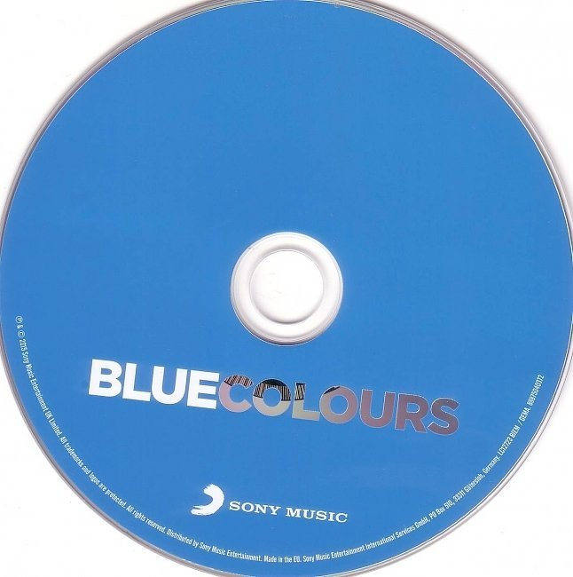dvd cover Blue - Colours