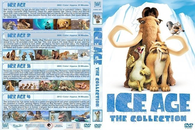 dvd cover Ice Age: The Collection