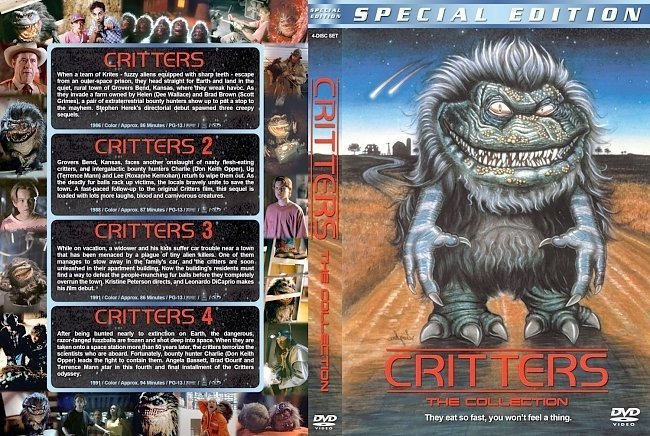 dvd cover Critters: The Collection